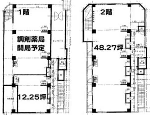 中央線武蔵小金井駅前の医療テナント 医院クリニック開業物件